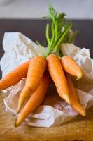 Carrot bunch photo