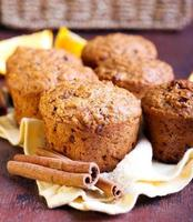 Carrot and marmalade muffins