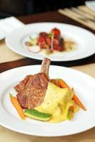 Lamb cuisine