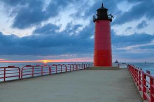 Faro de Milwaukee. foto