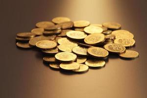 gold coin photo