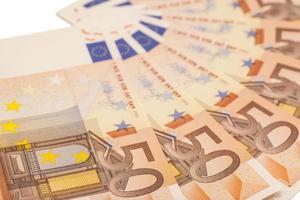 Euro money banknotes. 50 euro photo