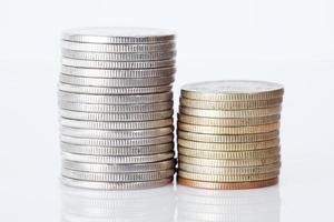 Stack of coins photo