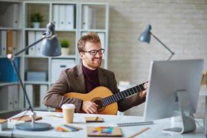 Office singer