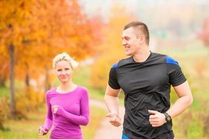 healthy lifestyle - jogging. photo