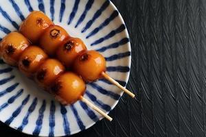 Mitarashi dango photo