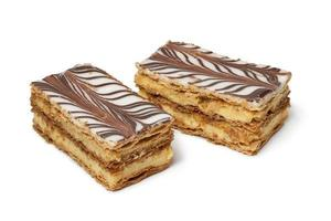 Moroccan mille feuille pastries