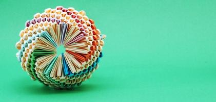 arte de origami foto