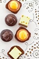 pasteles pequeños
