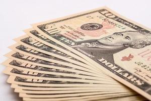 billetes de un dólar estadounidense