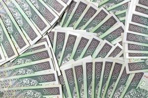 fondo de efectivo polaco foto