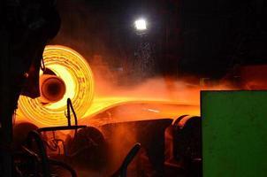 proceso de acero laminado en caliente