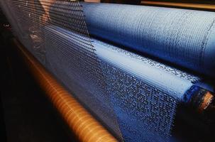 Coating mesh process