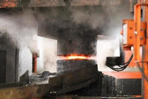 Automatic hot stamping process photo