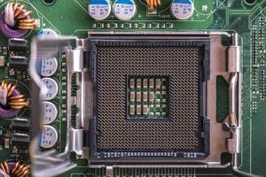 Sockel der Computer-Zentraleinheit