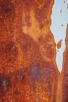 Cerca del fondo oxidado grunge