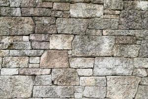 Grungy rusty blocks of stone-work technology photo