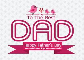 Happy Father's Day card idea design for your DAD