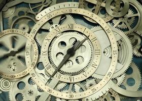 The clock photo