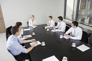 reunión de negocios foto