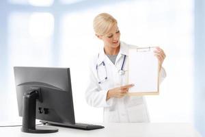 trabajador medico foto