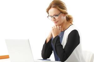 Business woman portait photo