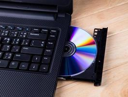 unidad de DVD abierta foto