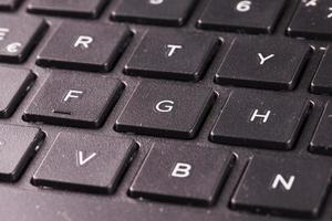 Laptop keyboard photo