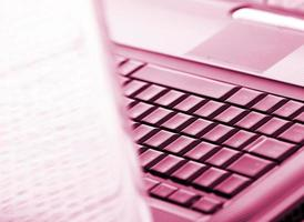 Modern and stylish laptop.
