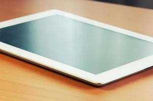 Touch Screen of Digital Tablet photo