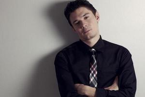 Portrait businessman photo