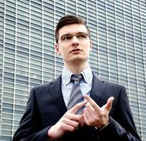 jovem empresário