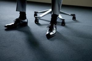 Businessman's step photo