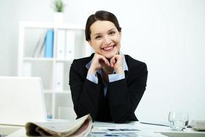 succesvolle zakenvrouw