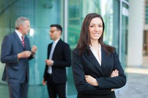 mujer de negocios foto
