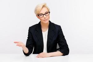 Business woman portrait photo