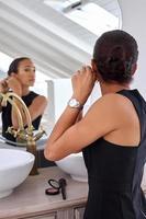 joyería de mujer de negocios foto