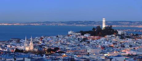 San Francisco - North Beach Panorama photo