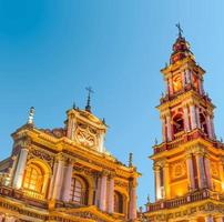 San Francisco in the city of Salta, Argentina photo