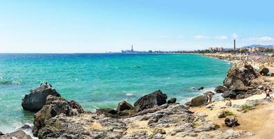 playa mongat foto