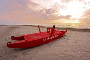 strand zonsopgang