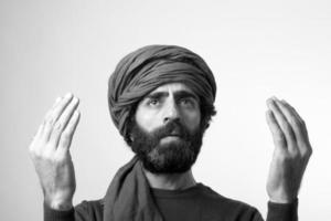 imán rezando foto
