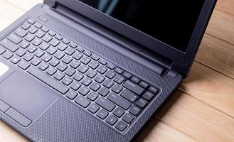 PC Notebook. photo