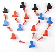 Social group teamwork