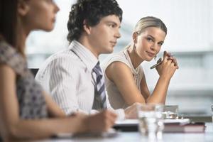 colegas na reunião de negócios