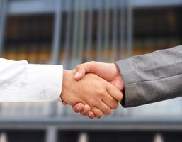 businessman hand shaking