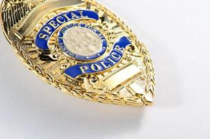 police badge photo