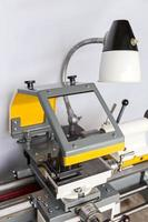 Lathe machine photo