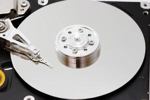 Hard disk drive inside