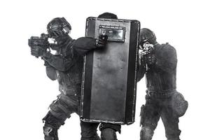 Police officers SWAT photo